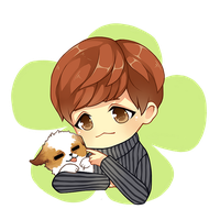Baekpuppy by misunderstoodpotato