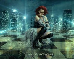 Night by vanesagarkova