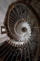 the downward spiral by ZerberuZ