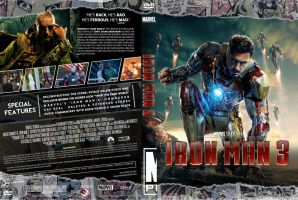 Iron Man 3 DVD by MrPacinoHead