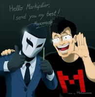 Congratiolations Markiplier to over 4 million subs by ICOM-raziel1982