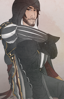 Card Cover -- Ezio by VenomousSoliloquy