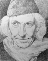 William Hartnell as The Doctor by The-Tinidril