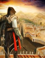 Assassin's Creed Fan Art, Rome by Azsls