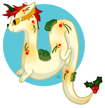 [Closed] Christmas Noodle Mew by CobaltSkye