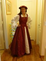 Elizabethan Court Dress by TimelordWitch10