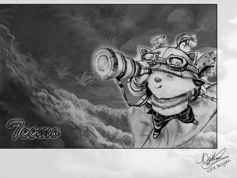 League of Legends - Teemo by Granfesics