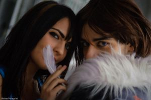Leon and Rinoa by Eyes-0n-Me