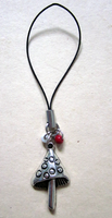 Mushroom Charm by BloodRed-Orchid