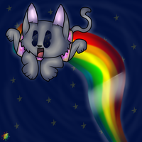 NYAN CAT! by MikaMilaCat