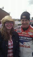 Me and John McGuinness by sunnygirl979
