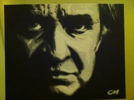 Johnny Cash by Stencils-by-Chase
