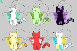 Pixie Purr Adoptables .:CLOSED:. by Ebony-Adopts