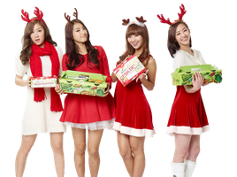 SISTAR - Christmas [RENDER] by AbouthRandyOrton