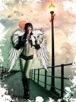 angel at pier by leekdesign