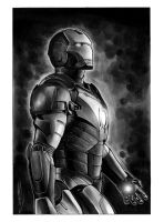 Iron Man Copic Illustration by RandySiplon