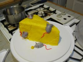 mousy cheese cake by recycledrapunzel