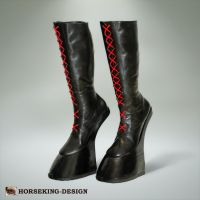 DRAFT HORSE BOOTS - knee high version by HORSEKING