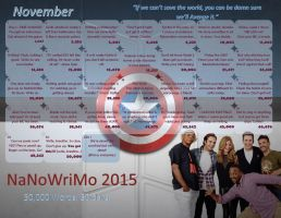 NaNo 2015 Winter Soldier cast by WalkingInDarkness737
