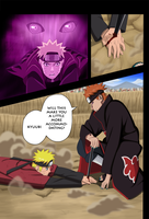 pain vs naruto by karka92
