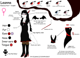 Leanne Reference Sheet .:Anthro:. 2012 by XxAnthro16xX
