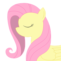 Fluttershy - Minimal by Pepenist