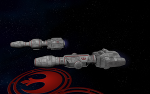 Rebel Corellian DP Series Corvettes 02 by Majestic-MSFC