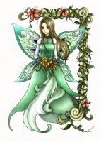 Fairy picture - coloured by back2life