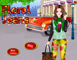 Floral Jeans - Fashion Games by kute89