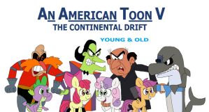 An American Toon V Poster - Young and Old by HunterxColleen