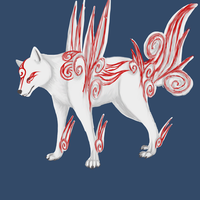okami shiranui by DemonNagareboshi