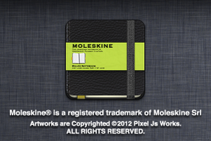Moleskine icons by jays838