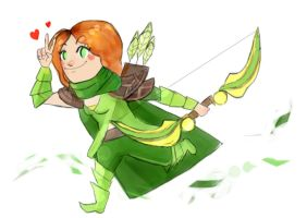 WindrangerChibi - Dota 2 by JunKazama15