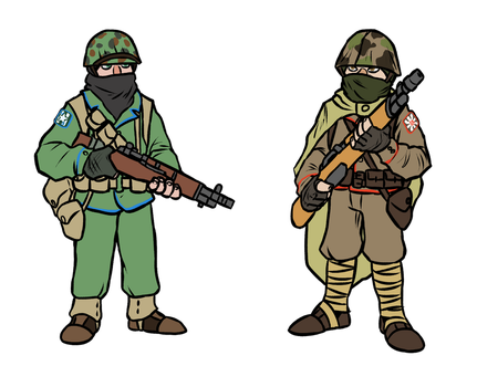 Riflemen by slepo1