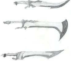 3 swords by alke