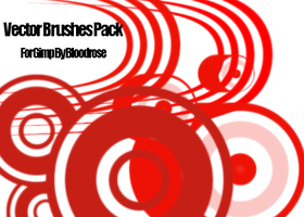 Vector Brush Pack For Gimp by CSVII