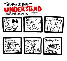 Things I Don't Understand Meme by Bottled-Love