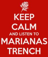 Keep calm .... Marianas Trench by xInakax