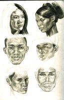 Weekly Challenge: Race Faces by Ezekiel-Black