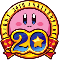 Kirby's 20th Anniversary Token Vector by UmbraVivens