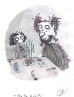 Mrs. Lovett  meat pies by DemonCartoonist
