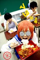 Gintama - Lunch break by gk-reiko