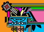 Adidas Logos color by 11-95