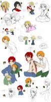 HETALIA - DOODLES by anime-angel-in-dark