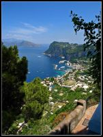 Capri - View from San Michele by AgiVega