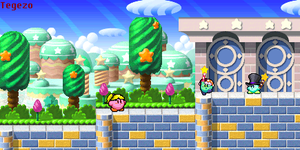 Kirby Adventure!! 8D by wwiggles