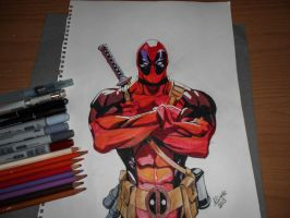 Deadpool by IcenHeart