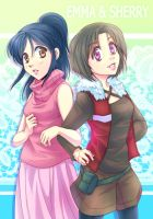 The friends: Sherry and Emma by NEWLL