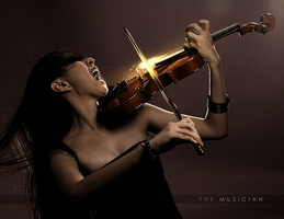 The Musician by goodghost1980