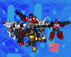 HEROES OF CYBERTRON by 3niteam